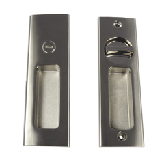 400 Series: Stainless Steel Morticed Sliding Door Lock & Indicator Set